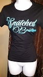 Snatched Tee-Black